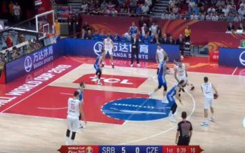 Η Σερβία νίκησε την Τσεχία με 90-81 και τερμάτισε στην 5η θέση