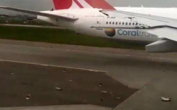 Δύο αεροπλάνα συγκρούστηκαν στο αεροδρόμιο Σερεμέτιεβο της Μόσχας