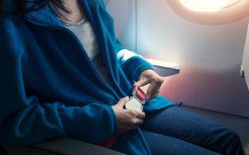 Τι δεν πρέπει κάνετε σε ένα αεροπλάνο παρόλο που μπορείτε