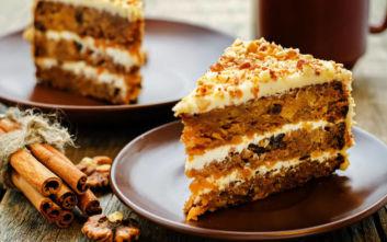 Απολαυστικό κέικ καρότου