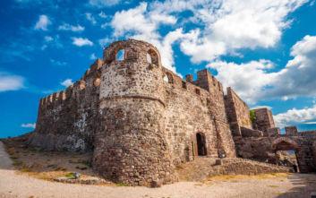 Το εντυπωσιακό κάστρο του Μολύβου στη Λέσβο