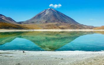 Ένα σκηνικό άγριας φυσικής ομορφιάς στη Βολιβία