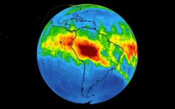 Η αόρατη απειλή της φωτιάς στον Αμαζόνιο που έπιασε ο δορυφόρος της NASA