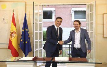 Τα 370 μέτρα του πρωθυπουργού της Ισπανίας για να κερδίσει τη στήριξη των Podemos