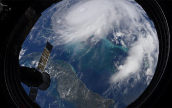 Έτσι φαίνεται ο τυφώνας Ντόριαν από τον Διεθνή Διαστημικό Σταθμό