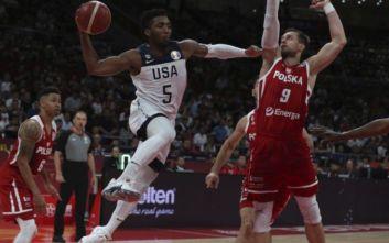ΗΠΑ - Πολωνία 87-74: Στην 7η θέση οι Αμερικανοί