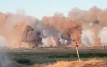 Οι Αμερικάνοι βομβάρδισαν με βόμβες 36.000 κιλών στόχους τζιχαντιστών