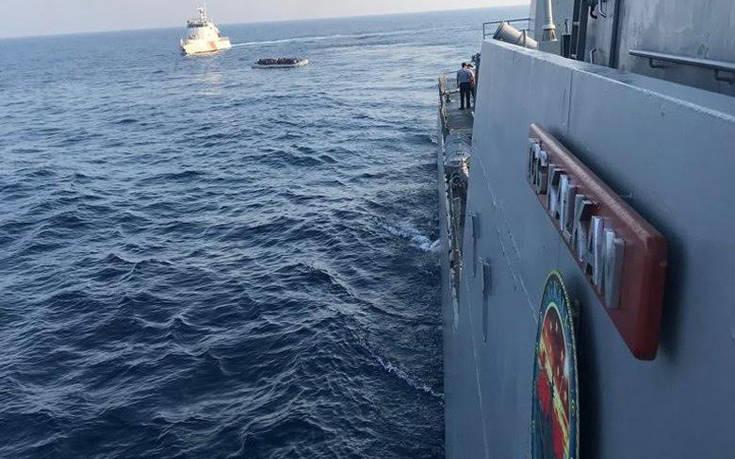 Τουρκική πυραυλάκατος ανοιχτά της Σάμου με πρόσχημα την έρευνα και διάσωση...
