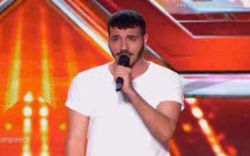 X-Factor: Ο παίκτης που ανέβηκε στη σκηνή για δεύτερη φορά να δοκιμάσει την τύχη του