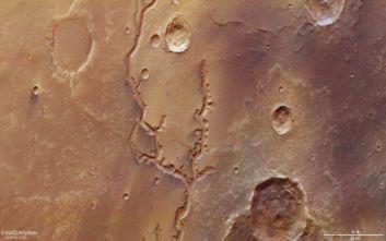 Ο Άρης είχε στο παρελθόν κοιλάδες με μεγάλα ποτάμια