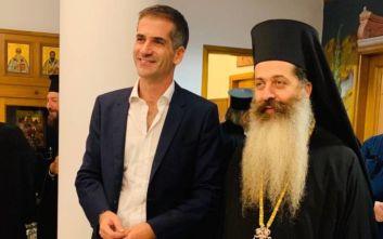 Μπακογιάννης: Ιεράρχης με σπουδαίο και πολύπλευρο έργο ο νέος Μητροπολίτης Φθιώτιδος κ. Συμεών