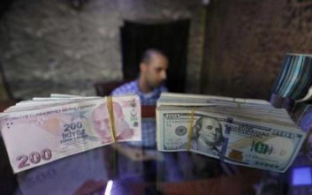 Reuters: Η λίρα μπορεί να είναι η «αχίλλειος πτέρνα» της Τουρκίας στη Συρία