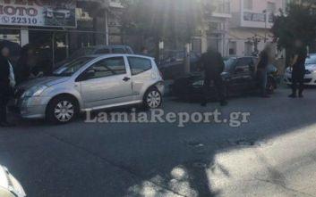 Λαμία: Μεθυσμένος οδηγός τράκαρε αυτοκίνητο