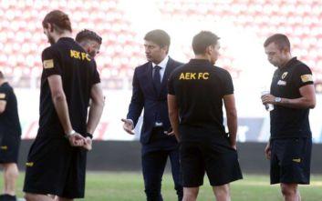 Τα «έψαλλε» στους παίκτες της ΑΕΚ ο Ίβιτς