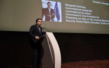 Μαργαρίτης Σχοινάς: Άγκυρα σταθερότητας σ΄ έναν ανασφαλή κόσμο η Ευρώπη