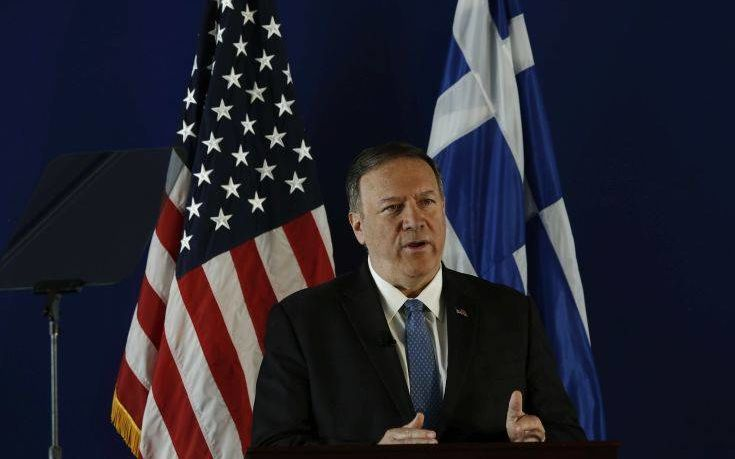 Μάικ Πομπέο: Tι θα κάνουν οι ΗΠΑ αν τουρκικές δυνάμεις αποβιβαστούν σε ελληνικό νησί