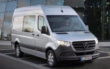 Ανάκληση Mercedes Sprinterγια έλεγχο στην «κλειδαριά» του καπό κινητήρα