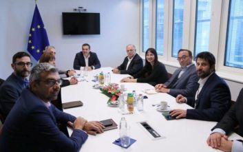 Η ατζέντα της συζήτησης Τσίπρα - ευρωβουλευτών του ΣΥΡΙΖΑ-Προοδευτική Συμμαχία