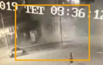 Βίντεο ντοκουμέντο από την έκρηξη σε κλαμπ στο Γκάζι