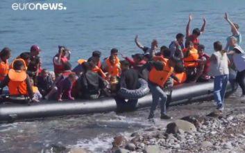 Πρώτη η Ελλάδα στις αφίξεις μεταναστών, ασφυξία στα νησιά