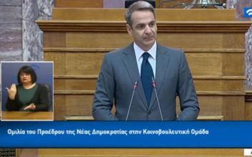 Μητσοτάκης: Καμία σύνταξη Έλληνα πολίτη δεν πρόκειται να μειωθεί ξανά