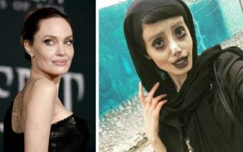 Συνελήφθη η Ιρανή... Αντζελίνα τζολί για «βλασφημία»
