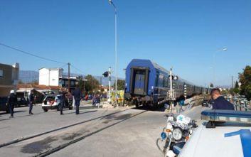 Τρίκαλα: Τρένο συνέτριψε αυτοκίνητο – Τραυματίστηκε θανάσιμα η οδηγός
