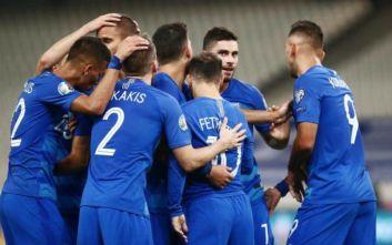 Εθνική Ελλάδας: Άνοδος δύο θέσεων στην κατάταξη των FIFA και UEFA