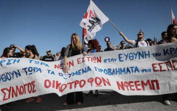 Ολοκληρώθηκε η διαμαρτυρία των φοιτητών στο υπουργείο Παιδείας