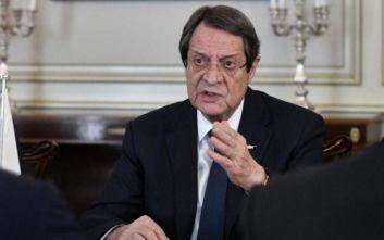 Αναστασιάδης: «Είμαστε έτοιμοι να αμυνθούμε στις οποιεσδήποτε επιβουλές»