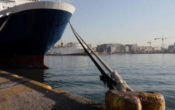 Δεμένα τα πλοία στο λιμάνι του Πειραιά την Πέμπτη 24 Σεπτεμβρίου