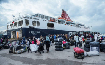 Στο λιμάνι του Πειραιά 57 μετανάστες από Μυτιλήνη και Χίο