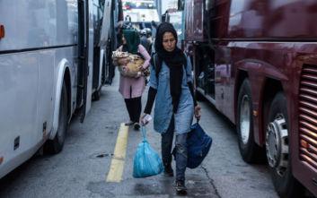 Έφυγαν πρόσφυγες από το Πορετσό και έλεγαν «καλύτερα στη Μόρια»