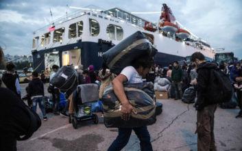 Από τα νησιά στην ενδοχώρα μετακινούνται 1.000 αιτούντες άσυλο