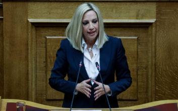 Φώφη Γεννηματά: Έχουμε ζητήσει και περιμένουμε ενημέρωση για Τουρκία και Πομπέο