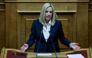 Γεννηματά: Οι πολίτες ζητούν απαντήσεις, η Βουλή πρέπει να σκάψει βαθιά στη λάσπη