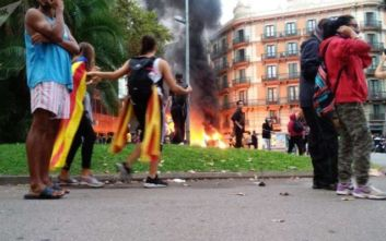 Ισπανία: Ογκώδης διαδήλωση των υπέρμαχων της ενότητας