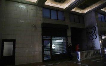 Υλικές ζημιές από την πυρκαγιά στο υπόγειο κλαμπ στην Πανεπιστημίου