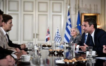 Τι συζητήθηκε στις συναντήσεις Μητσοτάκη με τους πρωθυπουργούς Σερβίας και Κροατίας