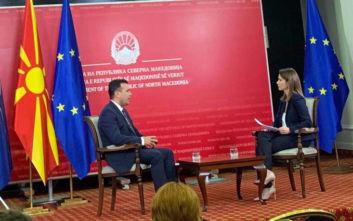 Ζόραν Ζάεφ: Σε κίνδυνο η Συμφωνία των Πρεσπών, μέρος της θα παγώσει