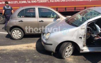 Γιαννιτσά: Μία νεκρή και έξι τραυματίες σε τροχαίο