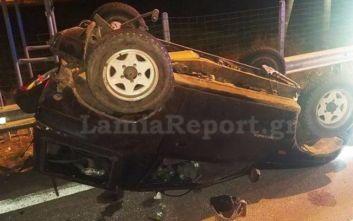 Σοβαρό τροχαίο με τρεις τραυματίες στη Λαμία