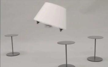 Drone σχεδιάστηκε ως φωτιστικό εσωτερικών χώρων