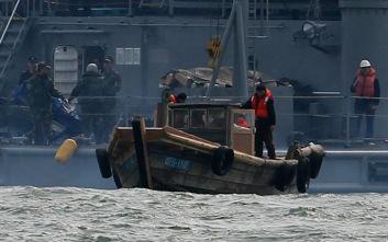 Σύγκρουση βορειοκορεατικού αλιευτικού με ιαπωνικό περιπολικό στη Θάλασσα της Ιαπωνίας