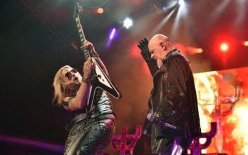 Οι Judas Priest έρχονται ξανά στην Ελλάδα για να γιορτάσουν τα 50ά γενέθλιά τους
