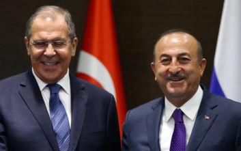 Η συριακή κρίση στο επίκεντρο συζητήσεων ανάμεσα σε Λαβρόφ και Τσαβούσογλου