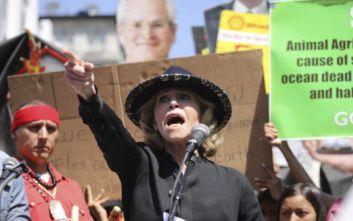 Συνέλαβαν την Τζέιν Φόντα σε διαδήλωση για την κλιματική αλλαγή
