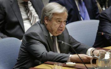 Αντόνιο Γκουτέρες: Ήρθε η ώρα να δώσουμε τέλος στην πυρηνική απειλή