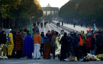 Αποκλεισμένο το Βερολίνο, στους δρόμους ακτιβιστές για το κλίμα