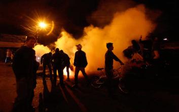 Οδοφράγματα και αποκλεισμένοι δρόμοι στο Εκουαδόρ εναντίον της λιτότητας